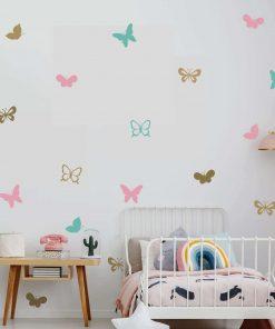 מדבקות קיר פרפרים