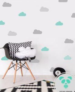 מדבקות עננים לקיר