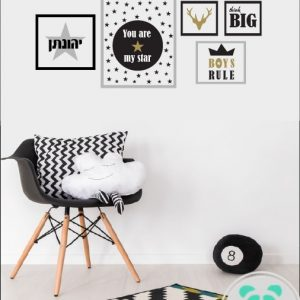 מדבקות תמונה לקיר בחדר