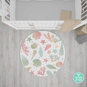 שטיח לחדר ילדים - מצולות הים