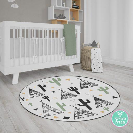 שטיח אינדיאני לחדר ילדים