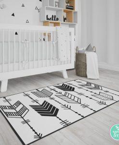 שטיח לחדר ילדים חיצים נורדים