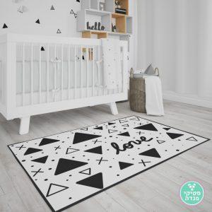 שטיח לחדר ילדים משולשים נורדים