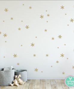 מדבקות קיר כוכביות