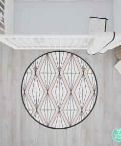 שטיח טקסטורת יהלומים
