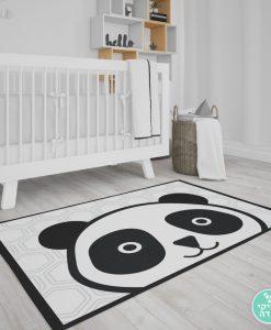 שטיח פנדה לחדר ילדים