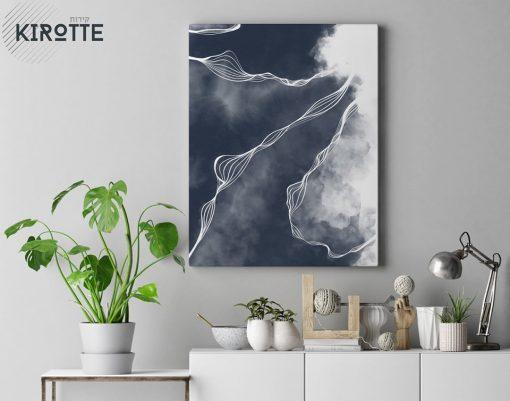 אבסטרקט עננים