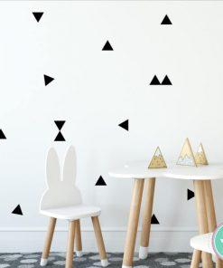 מדבקות קיר משולשים