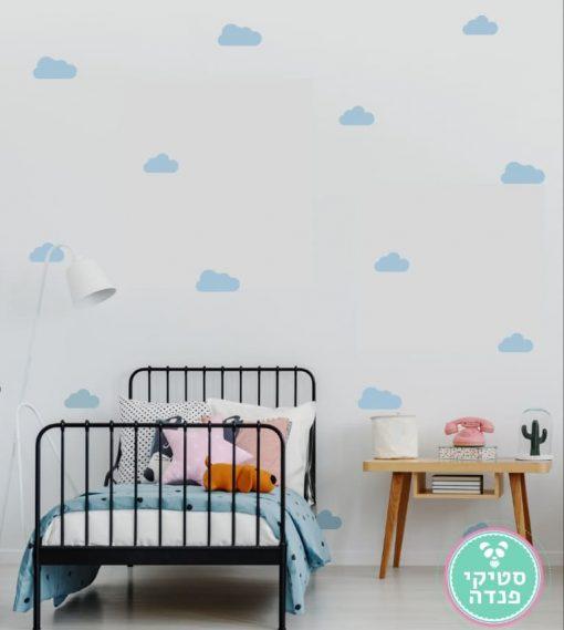 מדבקות קיר עננים