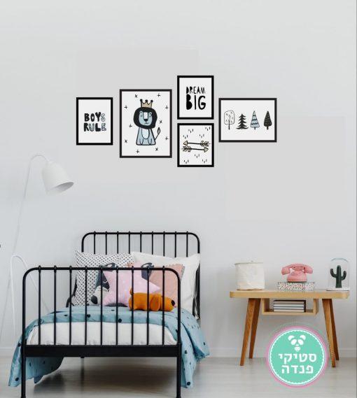 פוסטרים תמונות לחדרי ילדים ותינוקות